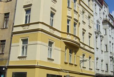 Prodej nájemního domu v centru Brna na ulici Panská.