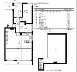 Prodej bytu 3+kk, Veslařská