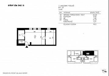 Prodej ateliéru 2+kk 41 m2, Úvoz.