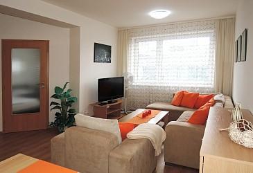 Pronájem zařízeného bytu 2+kk v Brně - Králově Poli