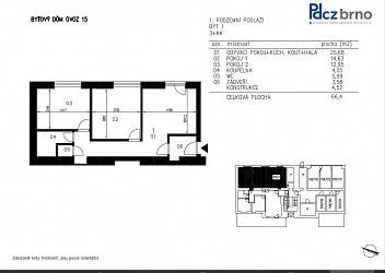 Prodej bytu 2+1, Úvoz