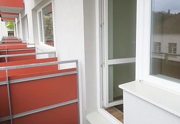 Pronájem cihlového bytu 2+kk v Brně u Mendlova náměstí