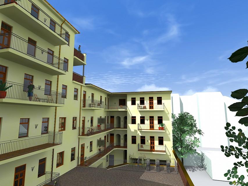 Bytový dům Lidická 5