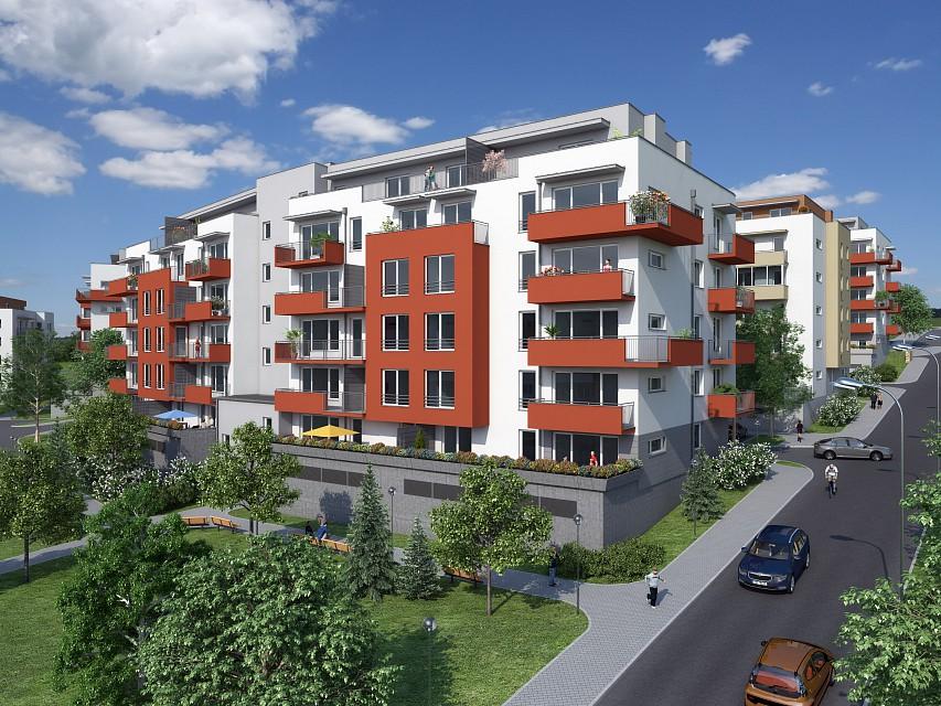 Nová etapa výstavby Brno - Kamechy
