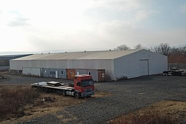 Komerční areál pro výrobu a skladování v Šakvicích