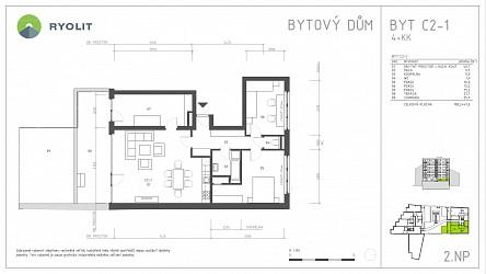 Prodej bytu 4+kk se zahrádkou v centru Brna