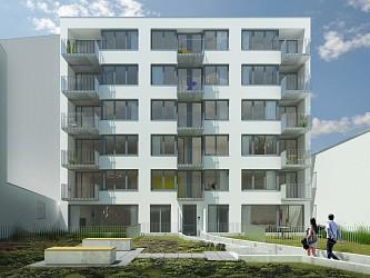 Prodej novostavby bytu 1+kk na ulici Mlýnské