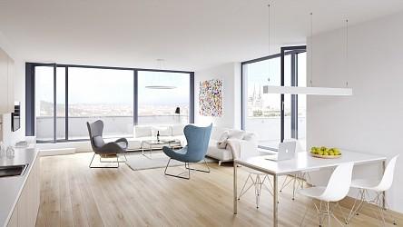 Prodej nadstandardní novostavby bytu 2+kk s terasou